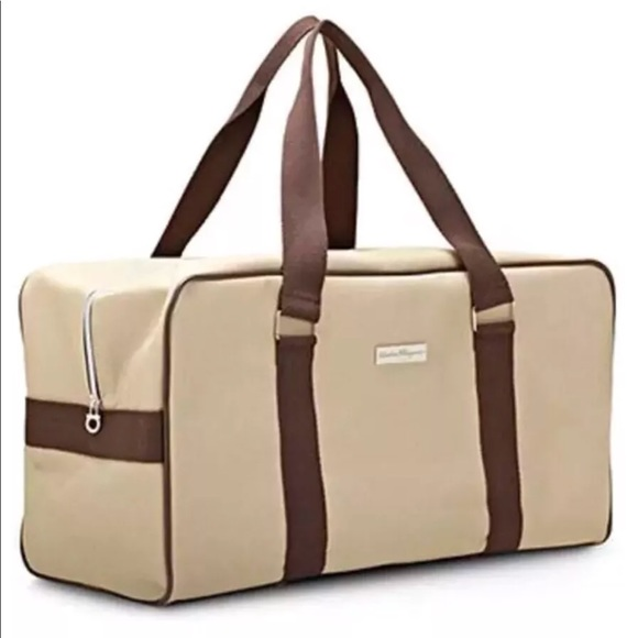 1190e89173d3 Salvatore Ferragamo Travel Duffle Bag Weekender